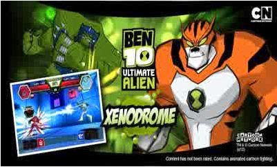 game android Ben 10 Xenodrome