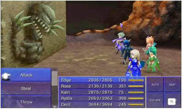 game android final fantasy IV